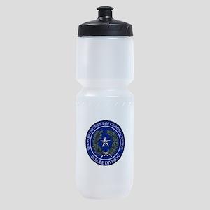 TDCJ Parole Division Sports Bottle