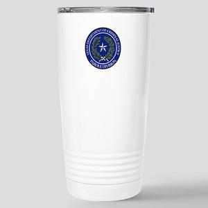 TDCJ Parole Division Stainless Steel Travel Mug