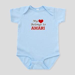 My heart belongs to Amari Body Suit