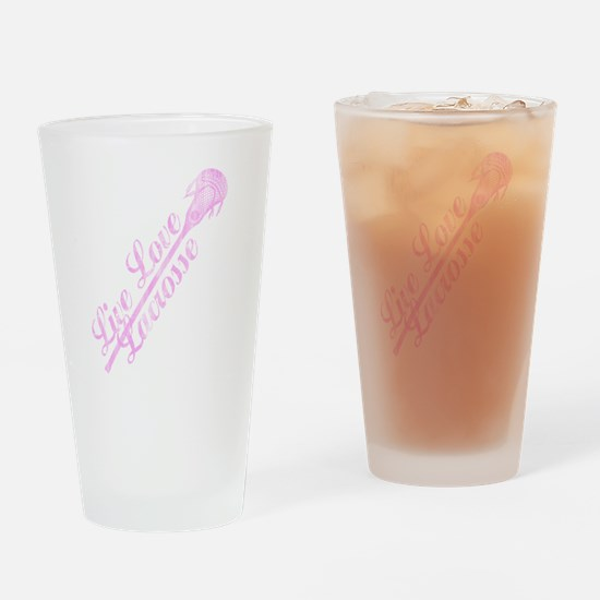 Funny Lacrosse moms Drinking Glass