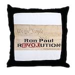 Ron Paul Preamble-C Throw Pillow