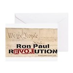 Ron Paul Preamble-C Greeting Cards (Pk of 20)