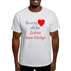 Won My Heart Wiener Schnitzel T-Shirt