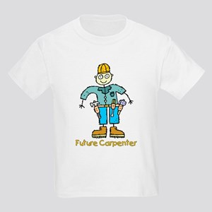 Future Carpenter (boy) Kids Light T-Shirt