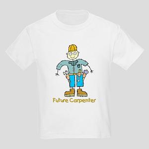 Future Carpenter (boy) Kids Light T-Shirt
