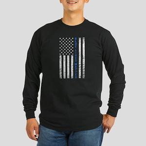 Blue Lives Matter Long Sleeve T-Shirt