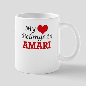 My heart belongs to Amari Mugs