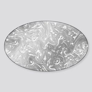 music notes in silver Sticker