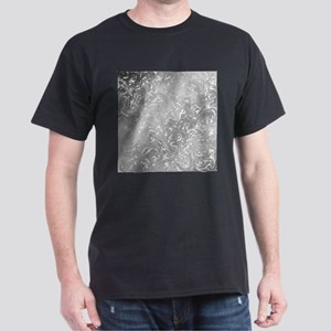 music notes in silver T-Shirt