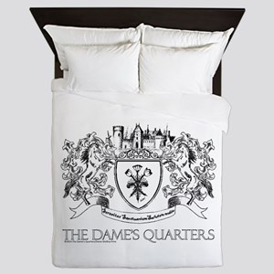 The Dame's Quarters Crest Queen Duvet