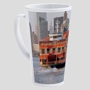 Guy V. Molinari 17 Oz Latte Mug
