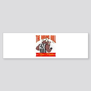 The Raging bull Bumper Sticker
