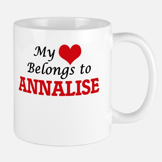 My heart belongs to Annalise Mugs