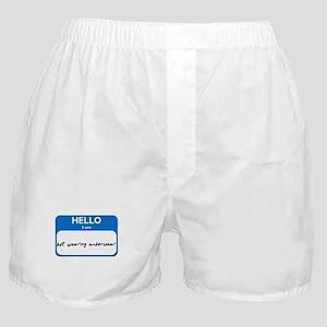 No Underwear Boxer Shorts