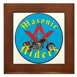 Masons who ride Framed Tile