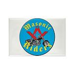 Masons who ride Rectangle Magnet