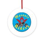 Masons who ride Ornament (Round)