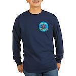 Masons who ride Long Sleeve Dark T-Shirt