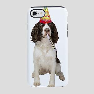 Springer Spaniel Birthday iPhone 8/7 Tough Case