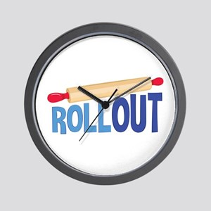 Roll Out Wall Clock