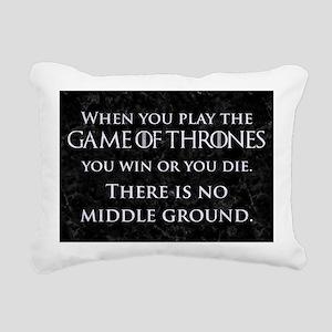 GOT THE GAME OF THRONES Rectangular Canvas Pillow