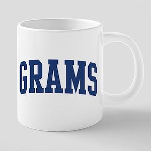 GRAMS design (blue) Mugs
