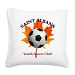 Away Square Canvas Pillow