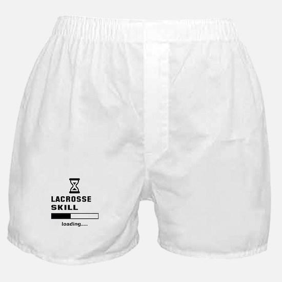 Lacrosse Skill Loading... Boxer Shorts
