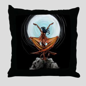 Demoness Throw Pillow