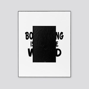Boomerang picture frames cafepress boomerang is my little world picture frame m4hsunfo Choice Image