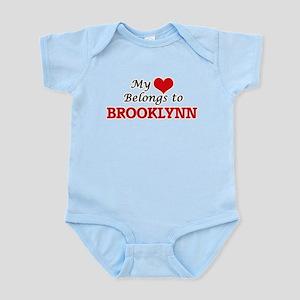 My heart belongs to Brooklynn Body Suit
