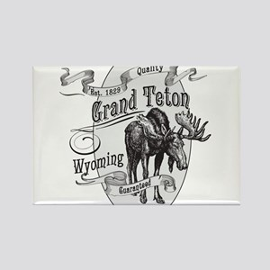 Grand Teton Vintage Moose Magnets
