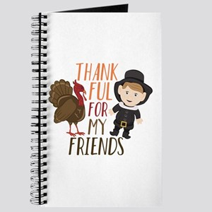 Thankful For Friends Journal