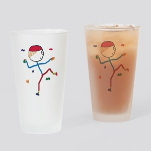 Indoor Climbing Drinking Glass