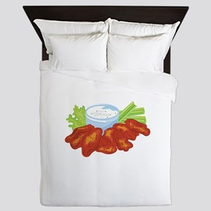 Buffalo Wings Queen Duvet