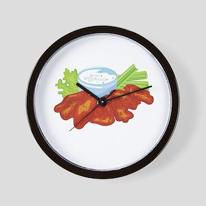 Buffalo Wings Wall Clock