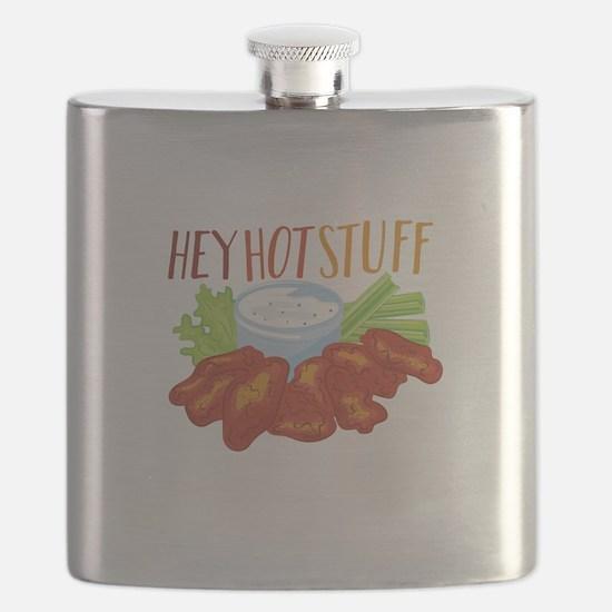 Hey Hot Stuff Flask