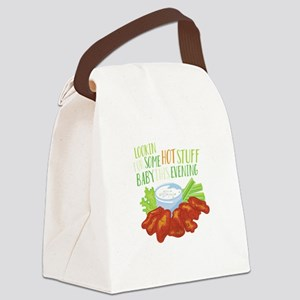 Some Hot Stuff Canvas Lunch Bag