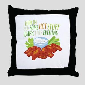 Some Hot Stuff Throw Pillow