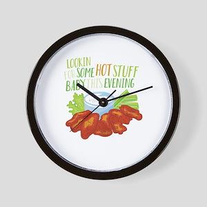 Some Hot Stuff Wall Clock