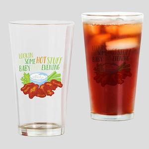 Some Hot Stuff Drinking Glass
