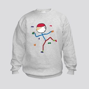 Indoor Climbing Kids Sweatshirt