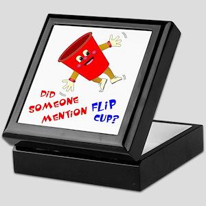Did Someone Mention Flip Cup Keepsake Box