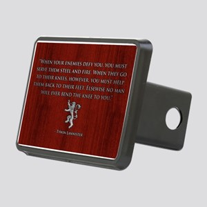 GOT STEEL AND FIRE Rectangular Hitch Cover