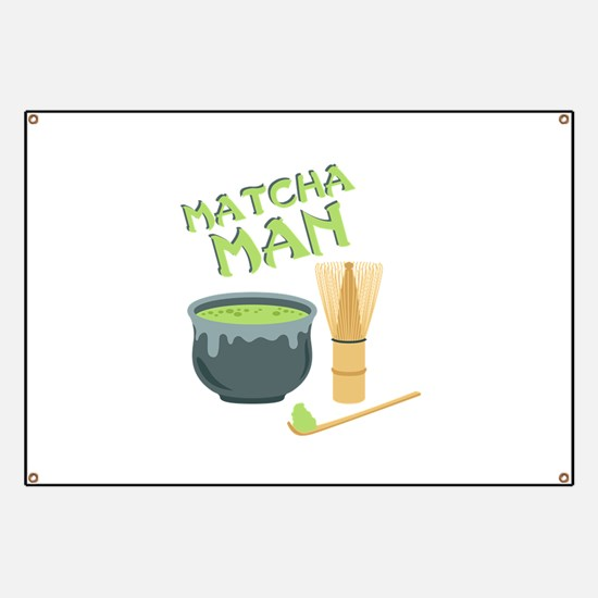 Matcha Man Tea Banner