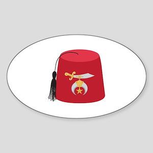 Fez Hat Sticker