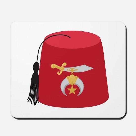 Fez Hat Mousepad