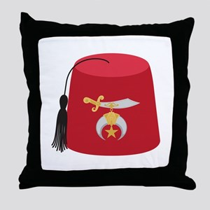 Fez Hat Throw Pillow