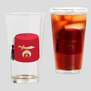 Fez Hat Drinking Glass