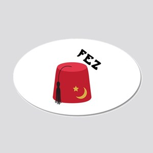 Fez Hat Wall Decal